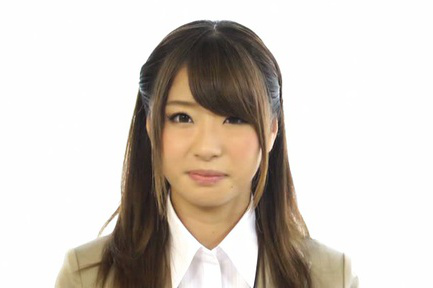 Japanese av model. Japanese AV Model in appealing suit has juicy